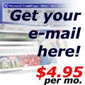 Get your e-mail here!